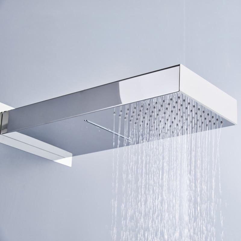 Aliexpress.com : Buy BECOLA Two Ways Waterfall Rain Shower Head Wall ...