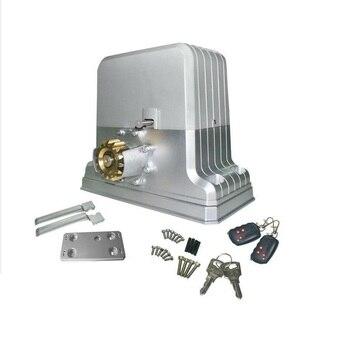 Automatico Cancello Scorrevole Operatore Kit può guidato sotto 1800kgs di protal + 4 M cremagliera + libero supplementare 4 pz di telecomando