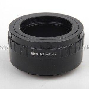 Image 4 - ADPLO 011050, חליפה עבור M42 For Sony NEX מצלמה, עדשת מתאם עבור M42 כדי NEX