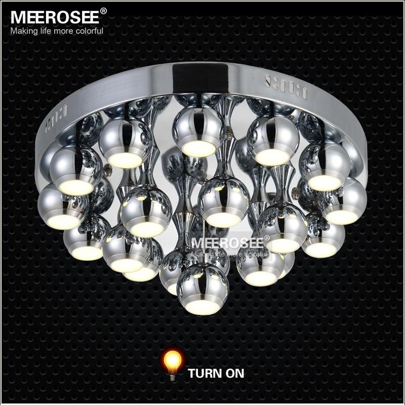 Plafonniers plafond moderne à LEDs affleurants de LED de la lumière 57 watts pour le plafonnier monté par surface de salon