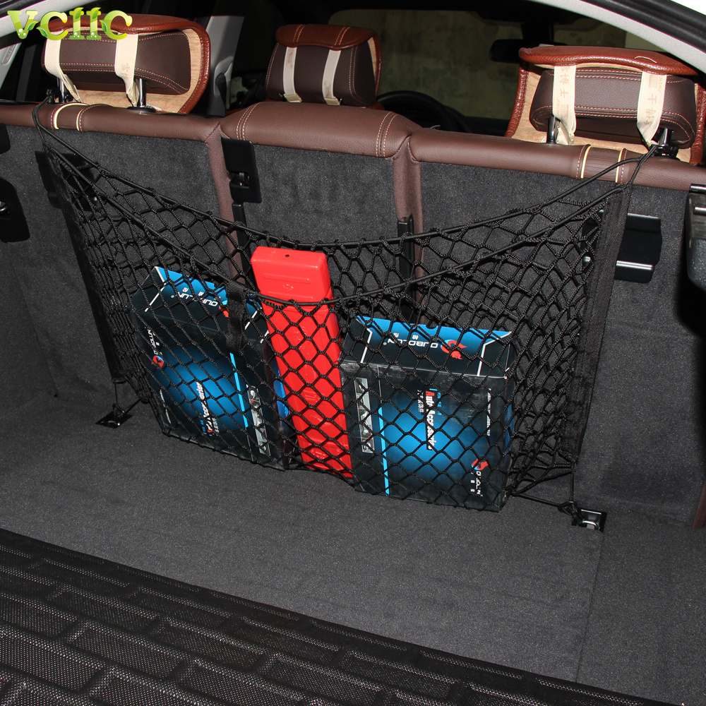 New Fashion Envelope Style Trunk Cargo Net For Volvo XC60 XC70 XC90/ X4 X5 For Audi Q5 Q7 For VW ...