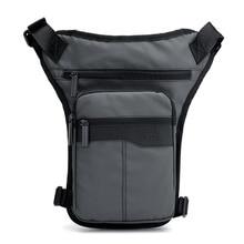 Ride Waterproof Nylon Tactical Waist Bag For The Belt Bananka Men Fanny Pack Walk Motorcycle Leg