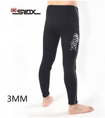 3MM Neoprene Wetsuit Pants Scuba Diving Snorkeling Surfing Swimming Warm Trousers Leggings Tights Anti-UV Protect Sailing Pant