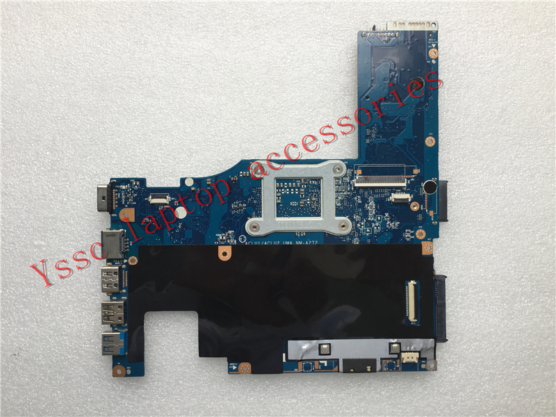 Free Shipping NEW NEW ACLU1 ACLU2 NM A272 laptop motherboard For Lenovo G40 70 motherboard For
