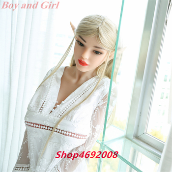Elf Ears 168cm Adult Love Doll Vagina Anal Oral Sex Toy Men available TPE With Metal Skeleton Big Boobs Love Dolls