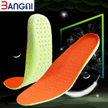 3ANGNI TPU Orthopedic Orthopedic anti slip Sport Soft Running Breathable Free Insert insert For Woman & Man Feet Shoes Insoles