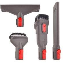 Accessory Tool Kit Attachment Set for Dyson V7 V8 V10 Sv10 Sv11 Cordless Vacuum Cleaner,Quick Release Spare Part Tool Kit for dyson tool kit