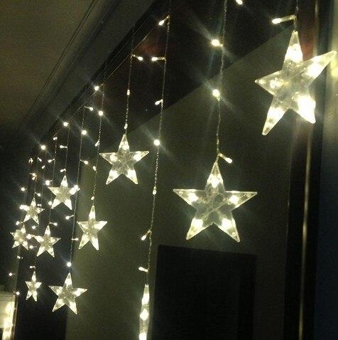 858b4041384 Adornos navideños LED. Ventana decora porche partición puerta cortina  habitación de matrimonio diseño Serie de