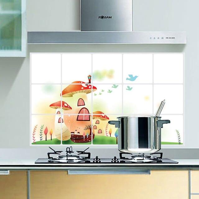 Tienda Online Decoración para el hogar 75*45 cm cocina anti aceite ...
