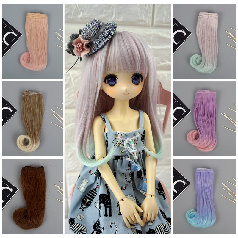 5cm fringe doll natural hair DIY wigs for handmade doll bang doll  RAC