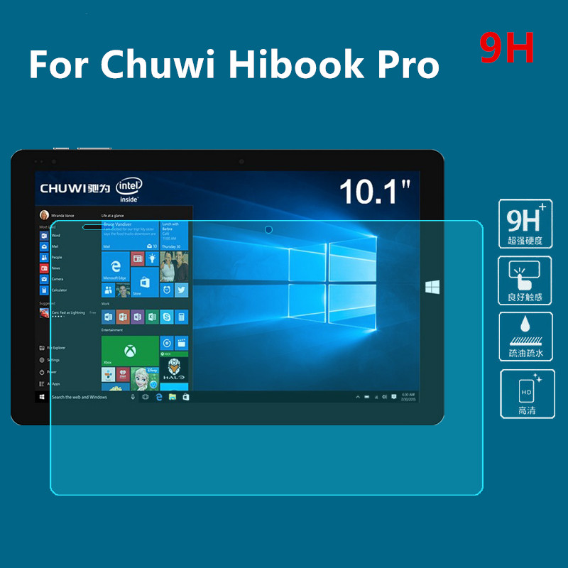 NEWCOOL 9H Tempered Glass Screen protector For Chuwi Hibook Hi10 Hi 10 pro 10 1 tablet