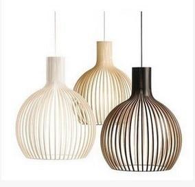 ФОТО Diameter 28cm Bird Cage Lamp modern wrought iron birdcage pendant light dining room pendant light bar lamps