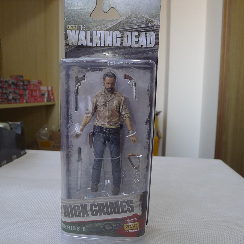 CC02--McFarlane Toys AMC Walking Dead 5 Action Figure Rick Grimes New мегафон amc se116 продам киев