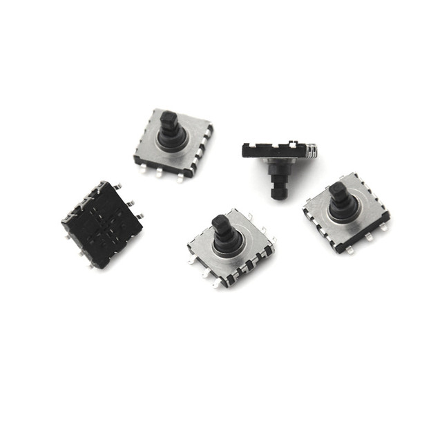 5pcs/Lot 10*10*9 SMD 5 Five Way Switch 10 * 10 * 9 MM Multi-Function Multi Direction Switch Touch Reset Button