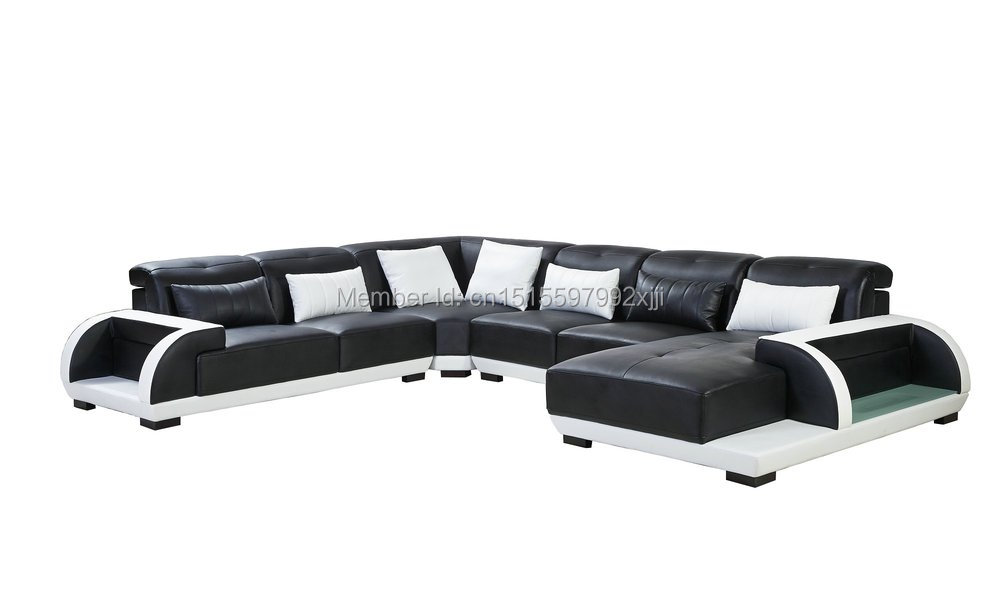 Beanbag Sectional Sofa Chaise In Muebles Bean Bag Chair Modern Design Leather Sofa Sectional Home Furniture Iiving Room Set