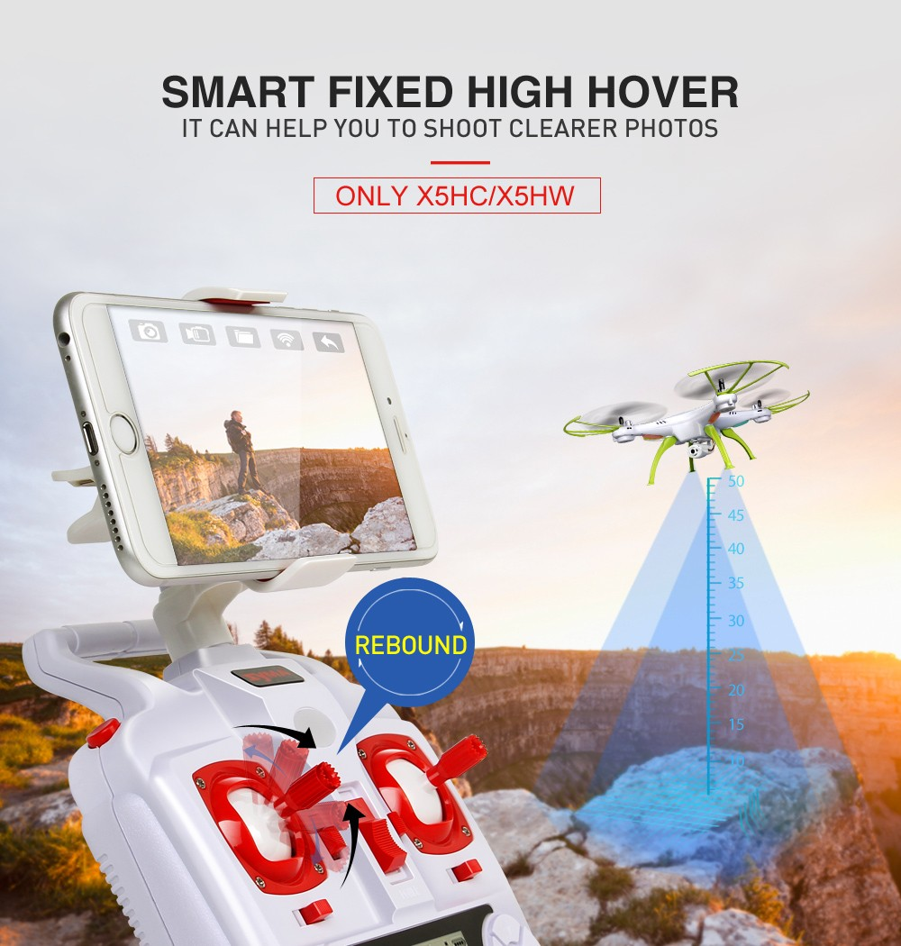 Популярный квадрокоптер SYMA X5HW купить на Алиэкспресс