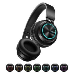 B6 Wireless Headphones Bluetooth 4.1Headphone 12H Playing time Stereo Glowing Headset Earphone With Mic For Tv Cellphone xiaomi