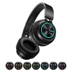 Image 1 - B6 Wireless Headphones Bluetooth 4.1Headphone 12H Playing time Stereo Glowing Headset Earphone With Mic For Tv Cellphone xiaomi