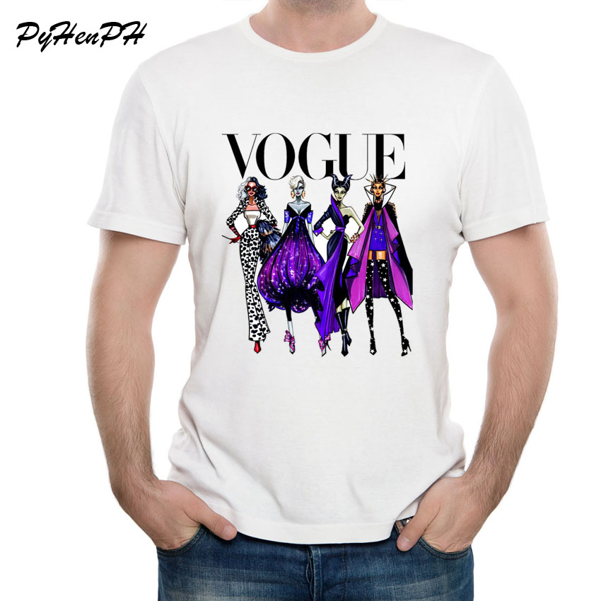 c23e0e31 US $7.19 40% OFF|VOGUE Punk Princess T Shirt Men Women Summer Style High  Quality T Shirt Male Female Cool Hipster Funny Tshirts Tumblr-in T-Shirts  ...