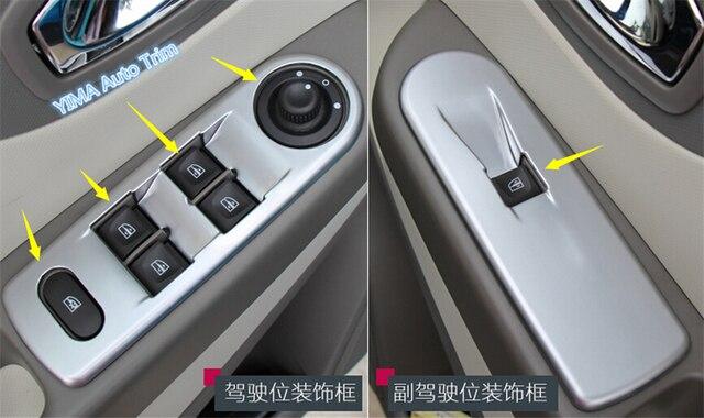 Interior For Renault captur 2014 2015 2016 ABS Inner Door Armrest ...