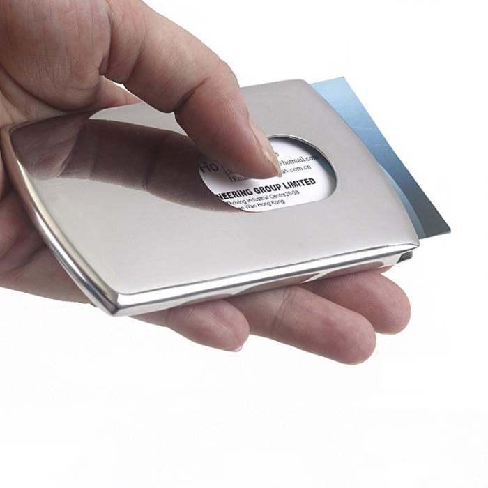 Online Shop 1 Piece Business Card Holder Women Vogue Thumb Slide ...