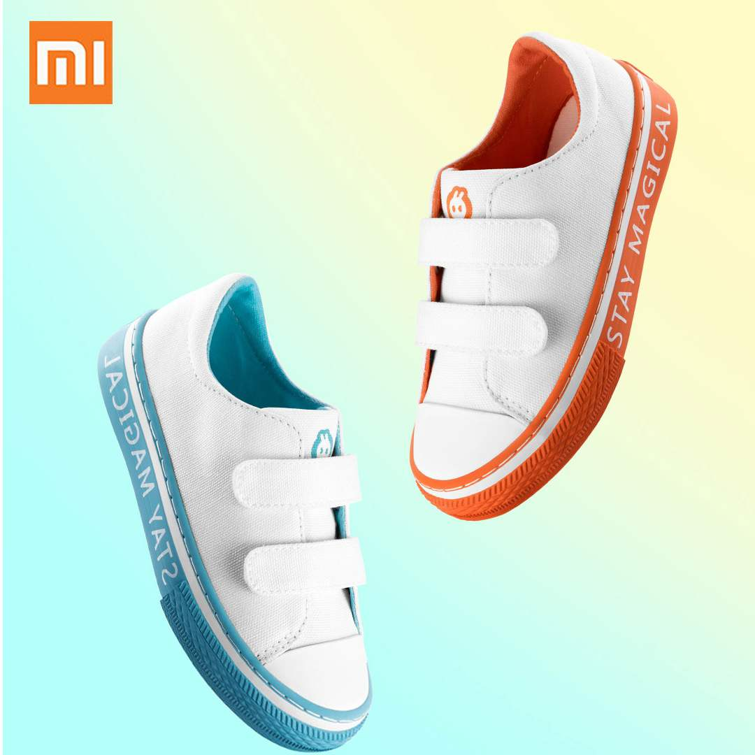 Xiaomi Kids' S Child Canvas Shoes Wearable Comfortable Soft Walking shoes Rubber Sole Non slip Casual Shoes For Four seasons