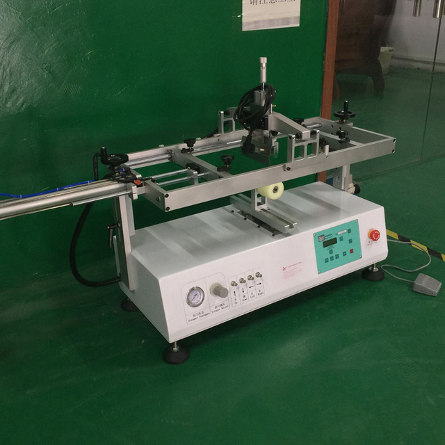 automatic tabletop screen printing machine for silicon wristbands