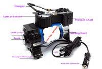 Portable 12V Air Compressor Car Tyre Inflator Heavy Duty Pump Tire Inflator Car Tool Inflatable Pump With super LED Light