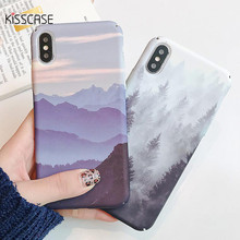 KISSCASE Landscape Pinewood Pattern Hard Case For Xiaomi Red