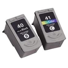 PG40 CL41 картридж PG 40 PG-40 CL-41 для Canon PIXMA MP160 MP140 MP180 MP190 MP210 MP220 MX310 iP1800 iP2500 IP1800