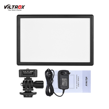 cz stock Viltrox L116T Camera Light Photo Studio Light Photography Lighting Led Video Light for Canon Nikon Camera DV Camcorder