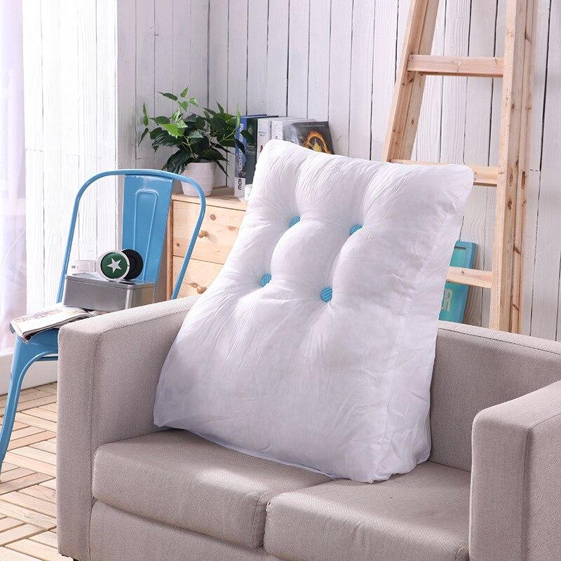 Stupendous Us 37 45 32 Off Triangular Waist Back Big Large Cushion Pillow Comfortable Backrest Cushion For Sofa Bed Thick Lumbar Backrest Pillow For Chair In Frankydiablos Diy Chair Ideas Frankydiabloscom