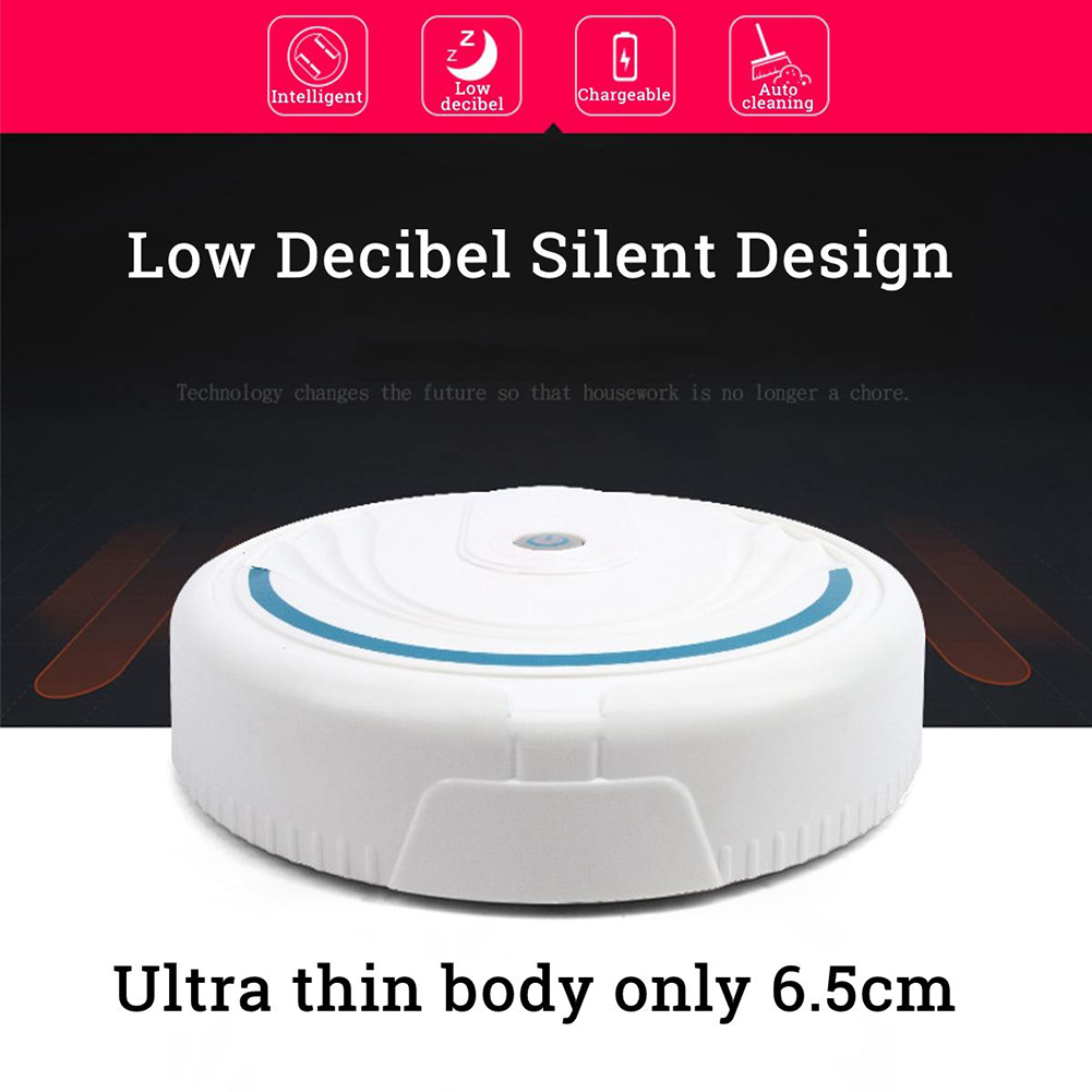 2019 Hot Selling Smart Floor Robotic Cleaning Vacuum Automatic Sweeping Cleaner Robot Sweeper Vacuum Cleaners(China)