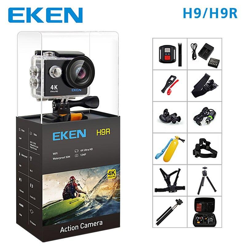 EKEN H9 Action Camera H9R wifi Ultra HD  Mini Cam 4K/25FPS 1080p/60fps 720P/120FPS underwater Waterproof Video Sports Camera