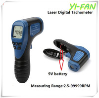 Free Shipping Laser Digital Tachometer Non Contact Digital Tachometer Rotational Instrument Speed Measuring Tachometer