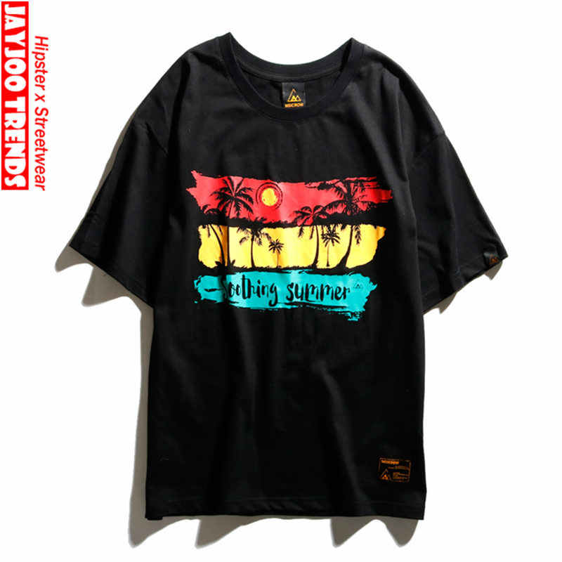 41edc9ec Funny T Shirts Men Harajuku Japanese Street Wear Unisex Couples T Shirt  Harajuku Outdoor Casual Short