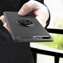 KDTONG Case sFor Coque iPhone X 6 6s 7 8 Plus Soft Silicone TPU Magnetic Ring Cover For Capa