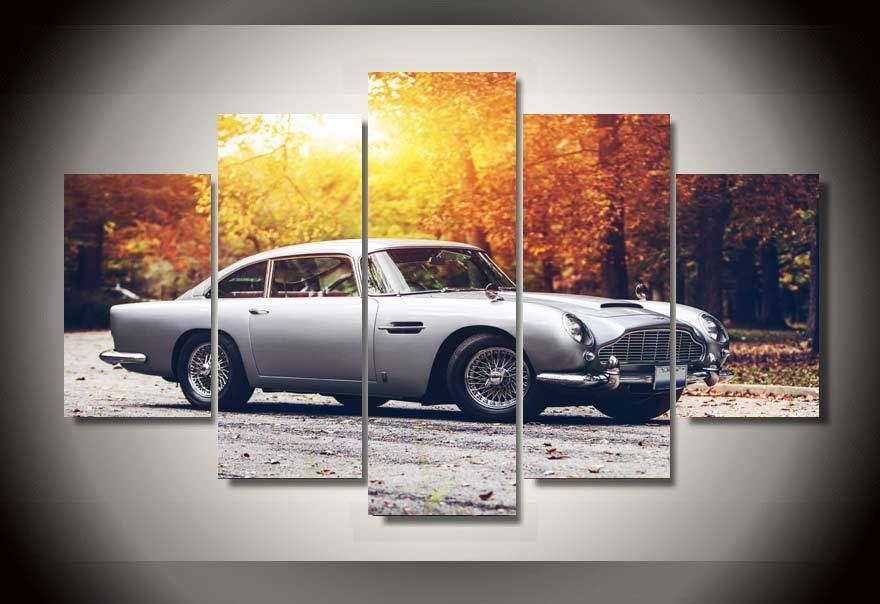 Art  Abstract Indoor  Decor 20x35cmx2,20x45cmx2,20x55cm  Car aston martin print poster picture canvas 5 piecesArt  Abstract Indoor  Decor 20x35cmx2,20x45cmx2,20x55cm  Car aston martin print poster picture canvas 5 pieces