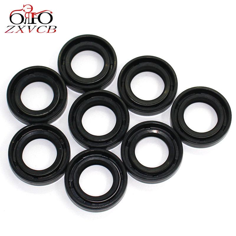 8PCS 17 * <font><b>28</b></font> * <font><b>7</b></font> Skeleton oil seal 17X28X7 sealed radial shaft for motorcycles and other engine machines new image