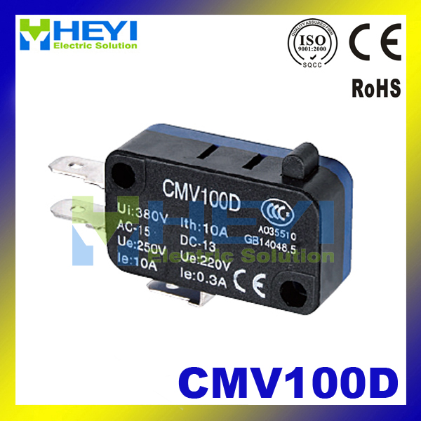 CMV100D small limit switch 220V 0.3A SPDT Momentary micro Switch