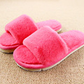 Design Winter Women Slippers Home Indoor Plush Slippers Female Shoes Comfortable Fur Fashion Ladies Slides Chaussure Femme