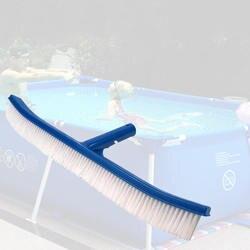 Ferramentas de limpeza de natação 18 Polegada azul piscina escova pvc quadro lidar com escova limpa piscina equipamentos de limpeza