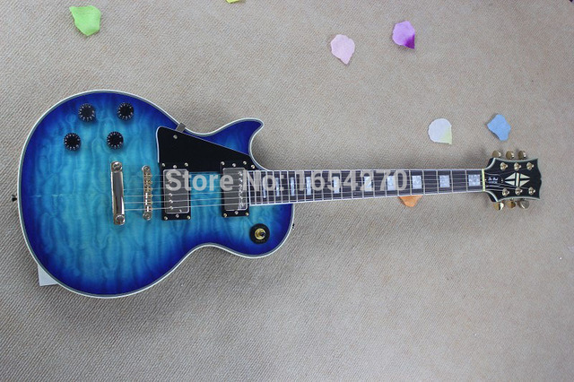 Free shipping factory Promotions Musical Instruments best New Left-handed Style Custom Electric Guitar 150621