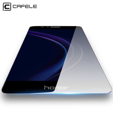 CAFELE Tempered Glass for Huawei Honor 8 Ultra Thin Screen Protector for Huawei Honor 8 Slim Glass Anti Scratch Protective Film