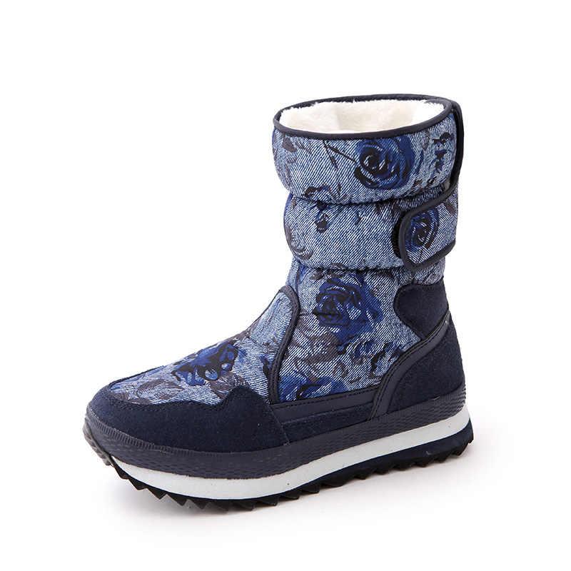 ขาย Hot Lace - up F28cm/B22cm ผู้หญิงหิมะ Boot Lady ฤดูหนาวรองเท้าผู้หญิง 2019 3 หลุม & black, beige, แสงสีน้ำตาล, กาแฟ, ชมพู