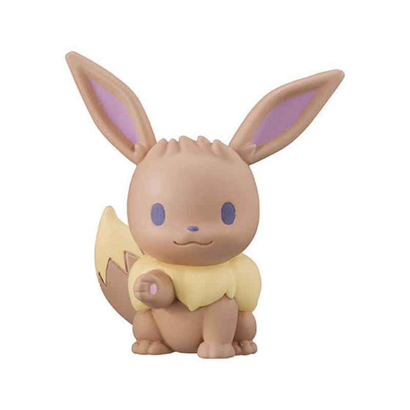 Bandai genuíno cápsulas pokemon estatueta pikachu ibu pequeno fogo dragão miao sapo sementes jenny tartaruga figura de ação crianças brinquedo presentes
