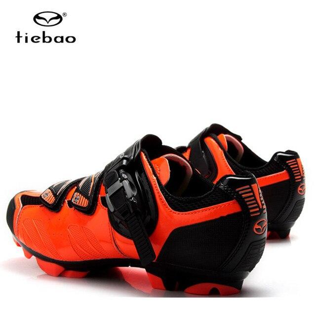 Tiebao tênis de ciclismo mtb, sapatilhas para uso ao ar livre, para bicicleta de montanha, vtt, feminino e masculino 6