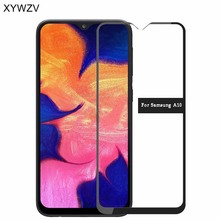 2PCS Full Glue Cover Glass For Samsung Galaxy A10 Tempered Screen Film