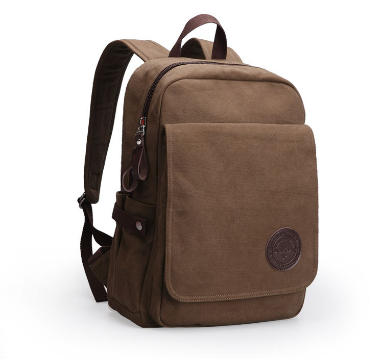 New canvas shoulder bag for men and women laptop bag casual backpack casual aquarius print and canvas design shoulder bag for women