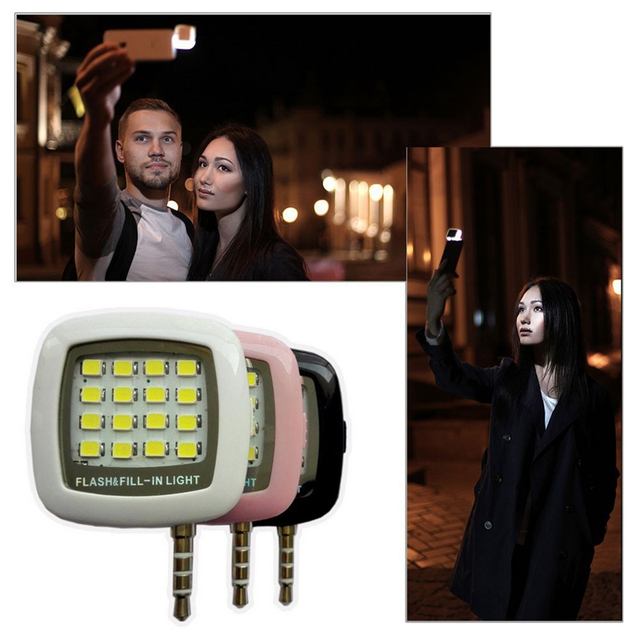 Fashion Built-in 16 LED Selfie FLASH Lamp